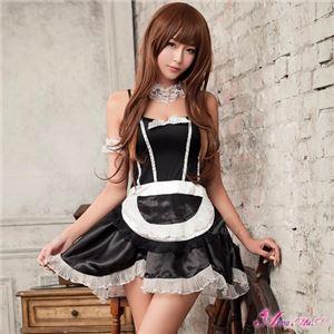 メイド服 コスプレ コスチューム メイド 衣装 z985 黒